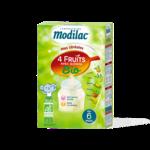 Modilac Céréales Farine 4 Fruits quinoa bio à partir de 6 mois B/230g à Ris-Orangis