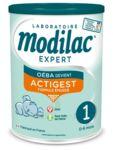 Modilac Expert Actigest 1 Lait poudre B/800g à Ris-Orangis