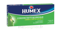 Humex Conjonctivite Allergique 2 %, Collyre En Solution En Récipient Unidose