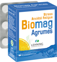 Lehning Biomag Comprimés à Croquer Agrumes B/90 à Ris-Orangis