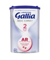 Gallia Bébé Expert AR 2 Lait en poudre B/800g à Ris-Orangis