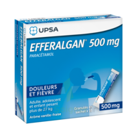 Efferalgan 500 mg Glé en sachet Sach/16 à Ris-Orangis