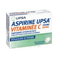 ASPIRINE UPSA VITAMINEE C TAMPONNEE EFFERVESCENTE, comprimé effervescent à Ris-Orangis