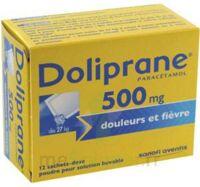 DOLIPRANE 500 mg Poudre pour solution buvable en sachet-dose B/12 à Ris-Orangis