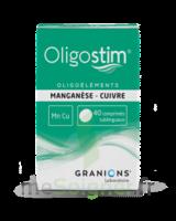 Oligostim Manganèse Cuivre Cpr Subl T/40