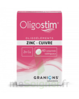 Oligostim Zinc Cuivre Cpr Subl T/40 à Ris-Orangis
