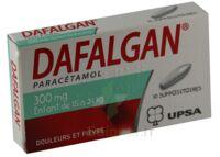 DAFALGAN 300 mg Suppositoires Plq/10