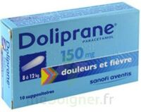 DOLIPRANE 150 mg Suppositoires 2Plq/5 (10) à Ris-Orangis