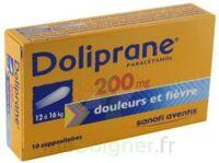 DOLIPRANE 200 mg Suppositoires 2Plq/5 (10) à Ris-Orangis