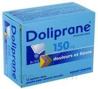 DOLIPRANE 150 mg Poudre pour solution buvable en sachet-dose B/12 à Ris-Orangis