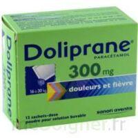 DOLIPRANE 300 mg Poudre pour solution buvable en sachet-dose B/12 à Ris-Orangis