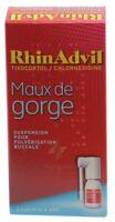 Rhinadvil Maux De Gorge Tixocortol/chlorhexidine, Suspension Pour Pulvérisation Buccale à Ris-Orangis