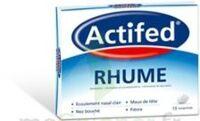 ACTIFED RHUME, comprimé à Ris-Orangis