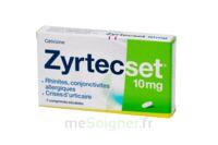 ZYRTECSET 10 mg, comprimé pelliculé sécable à Ris-Orangis