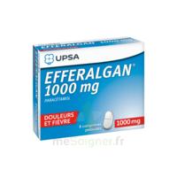 Efferalgan 1000 mg Comprimés pelliculés Plq/8 à Ris-Orangis