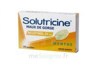 Solutricine Maux De Gorge Biclotymol Menthe 20 Mg, Pastille à Ris-Orangis