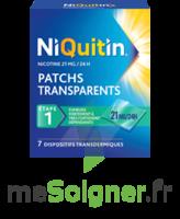 NIQUITIN 21 mg/24 heures, dispositif transdermique Sach/7 à Ris-Orangis