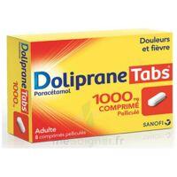 Dolipranetabs 1000 Mg Comprimés Pelliculés Plq/8 à Ris-Orangis