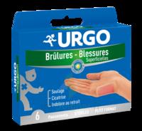 URGO BRULURES-BLESSURES PETIT FORMAT x 6 à Ris-Orangis