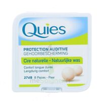 QUIES PROTECTION AUDITIVE CIRE NATURELLE 8 PAIRES à Ris-Orangis