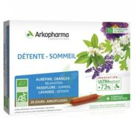 Arkofluide Bio Ultraextract Solution buvable détente sommeil 20 Ampoules/10ml à Ris-Orangis
