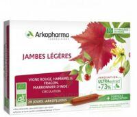 Arkofluide Bio Ultraextract Solution buvable jambes légères 20 Ampoules/10ml à Ris-Orangis