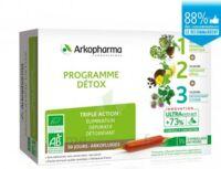 Arkofluide Bio Ultraextract Coffret Programme Détox 3x10 Ampoules/10ml à Ris-Orangis