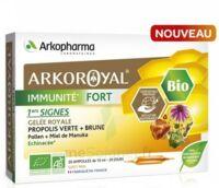 Arkoroyal Immunité Fort Solution Buvable 20 Ampoules/10ml à Ris-Orangis