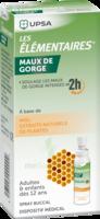 LES ELEMENTAIRES Solution buccale maux de gorge adulte 30ml à Ris-Orangis