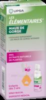 LES ELEMENTAIRES Spray buccal maux de gorge enfant Fl/20ml à Ris-Orangis