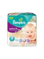 PAMPERS COUCHES ACTIVE FIT TAILLE 3 4-9 KG x 26 à Ris-Orangis