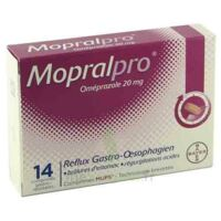 MOPRALPRO 20 mg Cpr gastro-rés Film/14 à Ris-Orangis