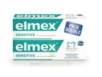 ELMEX SENSITIVE DENTIFRICE, tube 75 ml, pack 2 à Ris-Orangis