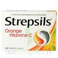 Strepsils Orange Vitamine C, Pastille à Ris-Orangis