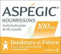 Aspegic Nourrissons 100 Mg, Poudre Pour Solution Buvable En Sachet-dose à Ris-Orangis