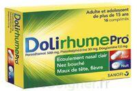 DOLIRHUMEPRO PARACETAMOL, PSEUDOEPHEDRINE ET DOXYLAMINE, comprimé à Ris-Orangis