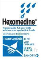 HEXOMEDINE TRANSCUTANEE 1,5 POUR MILLE, solution pour application locale à Ris-Orangis