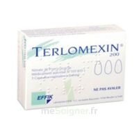 TERLOMEXIN 200 mg, capsule molle vaginale à Ris-Orangis