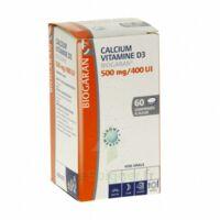 CALCIUM VITAMINE D3 BIOGARAN 500 mg/400 UI, comprimé à sucer à Ris-Orangis