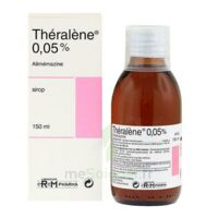 THERALENE 0,05 POUR CENT, sirop à Ris-Orangis