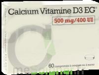CALCIUM VITAMINE D3 EG 500 mg/400 UI, comprimé à croquer ou à sucer à Ris-Orangis