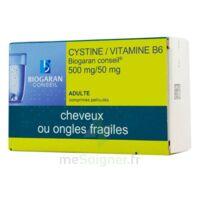 CYSTINE/VITAMINE B6 BIOGARAN CONSEIL 500 mg/50 mg Cpr pell Plq/120 à Ris-Orangis