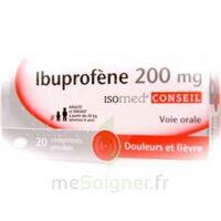 IBUPROFENE ISOMED 200 mg, comprimé enrobé à Ris-Orangis