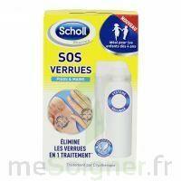 Scholl SOS Verrues traitement pieds et mains à Ris-Orangis
