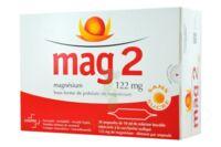 MAG 2 122 mg S buv en ampoule sans sucre édulcoré à la saccharine sodique 30Amp/10ml à Ris-Orangis