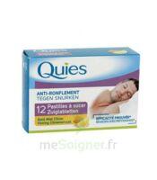 QUIES Past à sucer anti-ronflement miel citron B/12 à Ris-Orangis