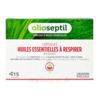 OLIOSEPTIL - Capsules Huiles essentielles à respirer - Nez dégagé à Ris-Orangis