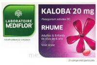 KALOBA 20 mg Cpr pell Plq/21 à Ris-Orangis