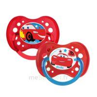 Dodie Disney Sucettes Silicone +18 Mois Cars Duo à Ris-Orangis