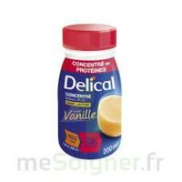 DELICAL BOISSON HP HC CONCENTREE Nutriment vanille 4Bouteilles/200ml à Ris-Orangis